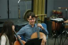 Cellist Andrew Janss