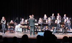Mr. Bloom with Studio Jazz and Sarah McKagan on vocals.